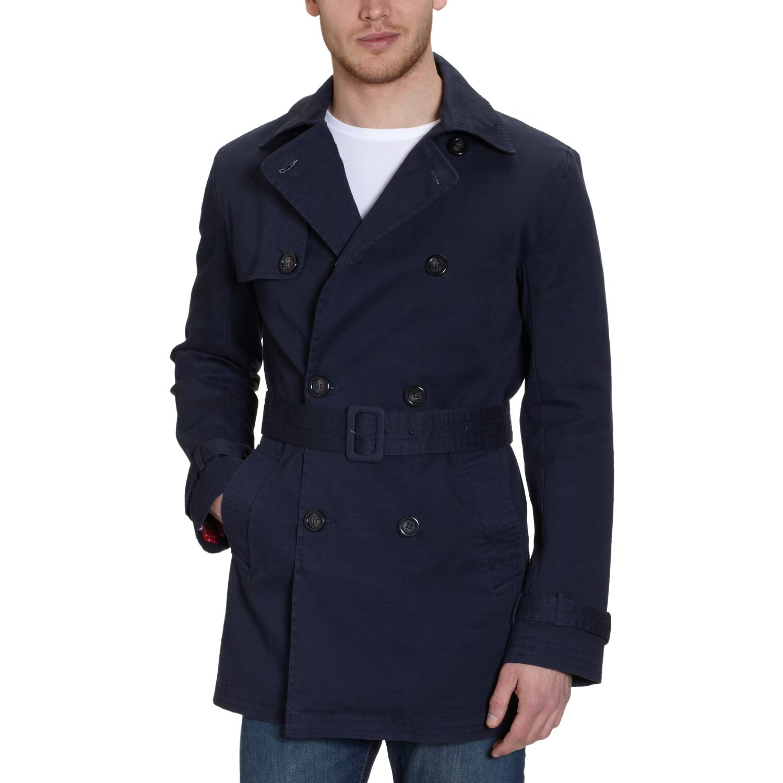ltb jeans herren trench coat 4819 gordi coat gr 48 ebay. Black Bedroom Furniture Sets. Home Design Ideas